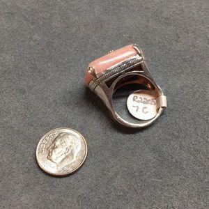 Silpada Jewelry - NWT Silpada Sterling silver/pink soapstone ring